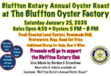 2020 Bluffton Rotary Annual Oyster Roast