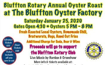 2020 Bluffton Rotary Annual Oyster Roast