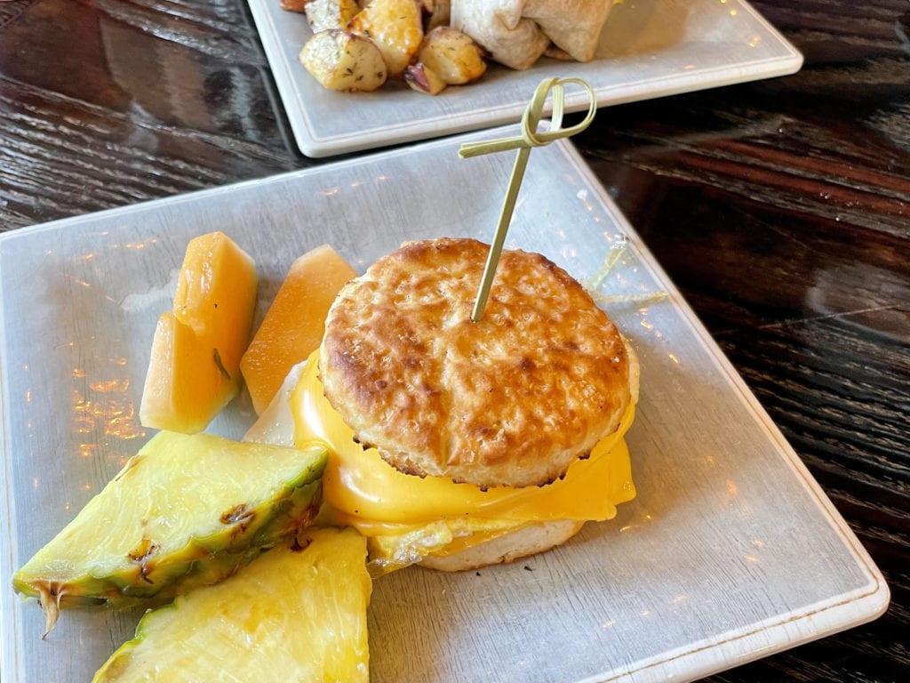 Breakfast Sandwich Corner Perk