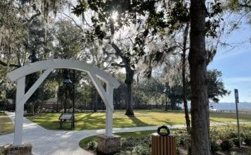 Bluffton SC Wright Family Park Entrance