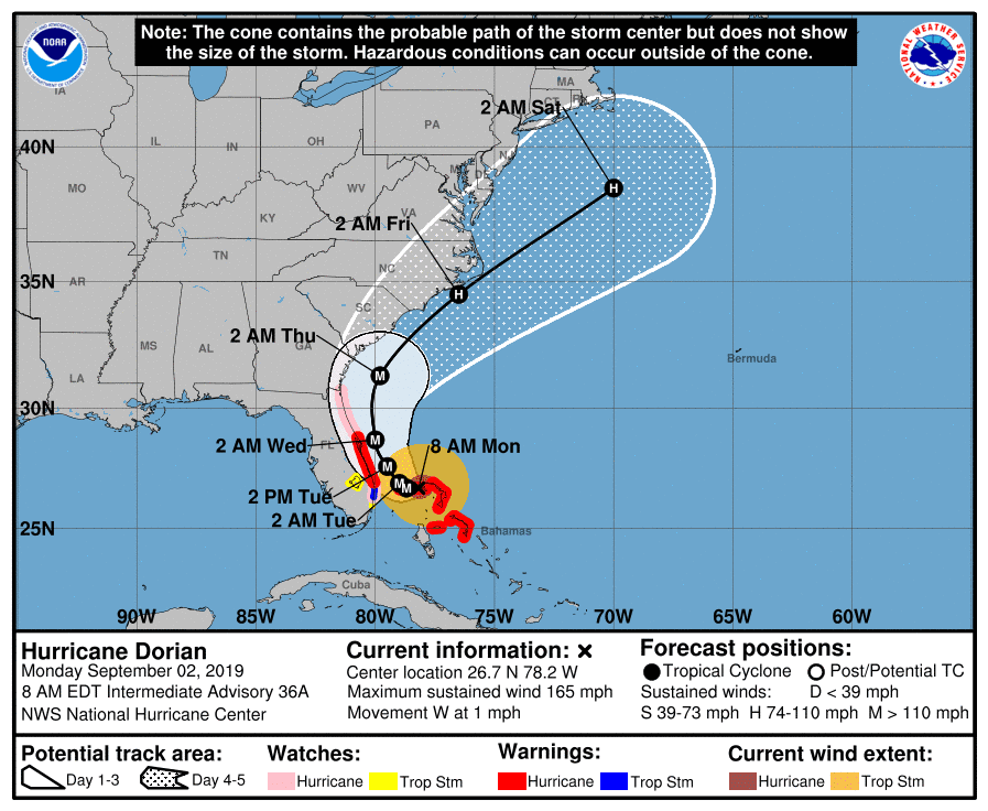 Hurricane Information Bluffton SC