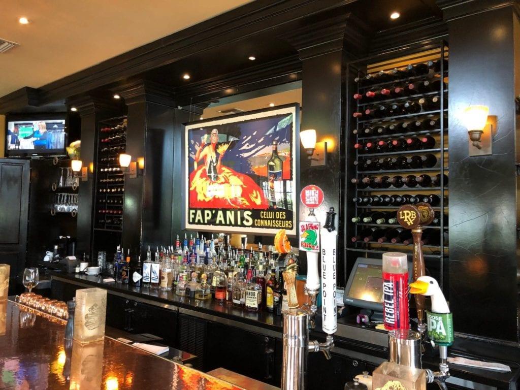 Bar at Truffles in Bluffton