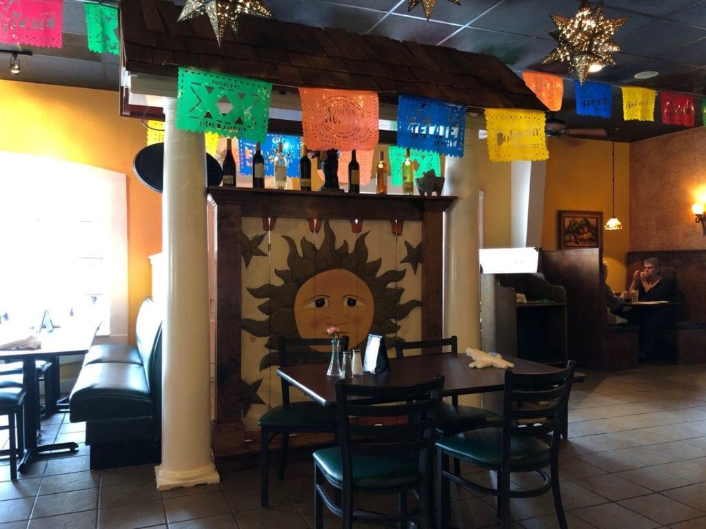 Inside Mi Terra Mexican Restaurant