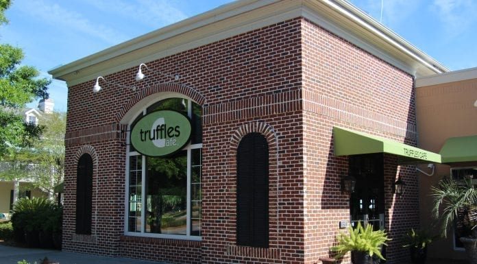 Truffles Cafe in Bluffton