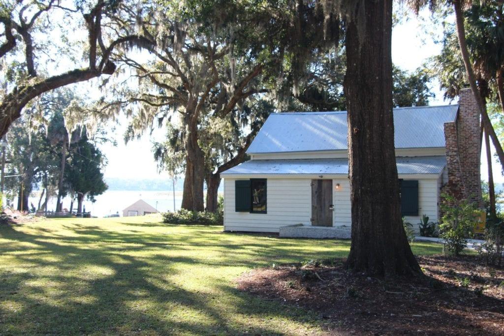 Garvin Garvey Freedman's Cottage Tour Bluffton