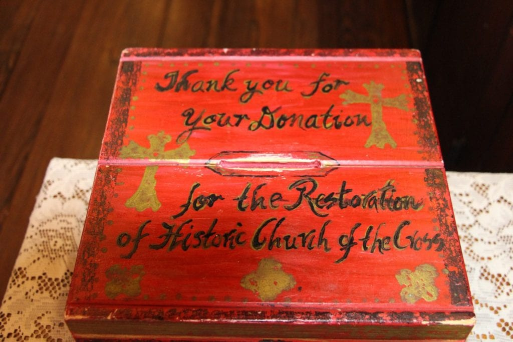 Donation Box at Church