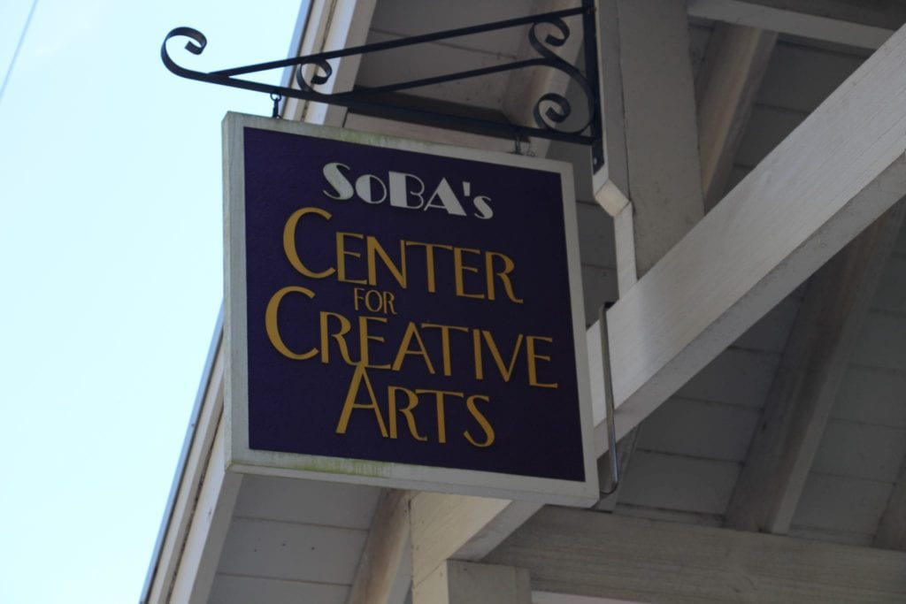 Signs for Creative Arts in Bluffton
