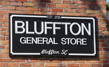 Bluffton General Store Sign