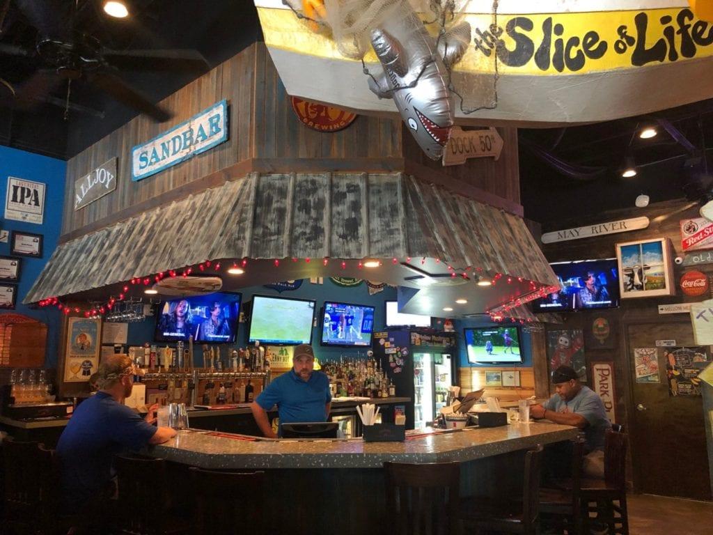 Bar at Mellow Mushroom Bluffton