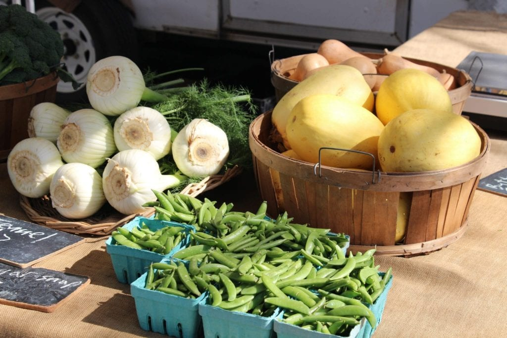 Fresh Vegetables at Farmer's Market