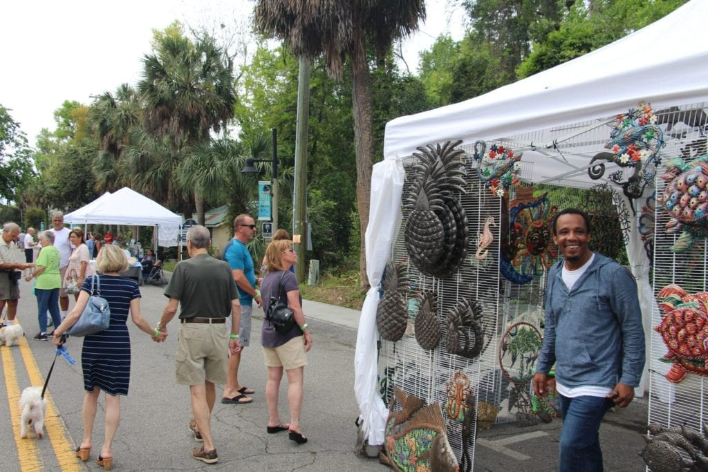 Art Vendor Bluffton Food Festival