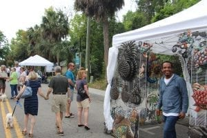 Art Vendor Bluffton Food Festival