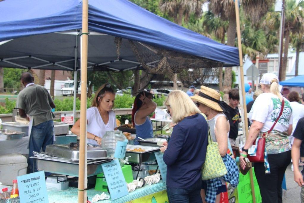 Food Festival Calhoun Street