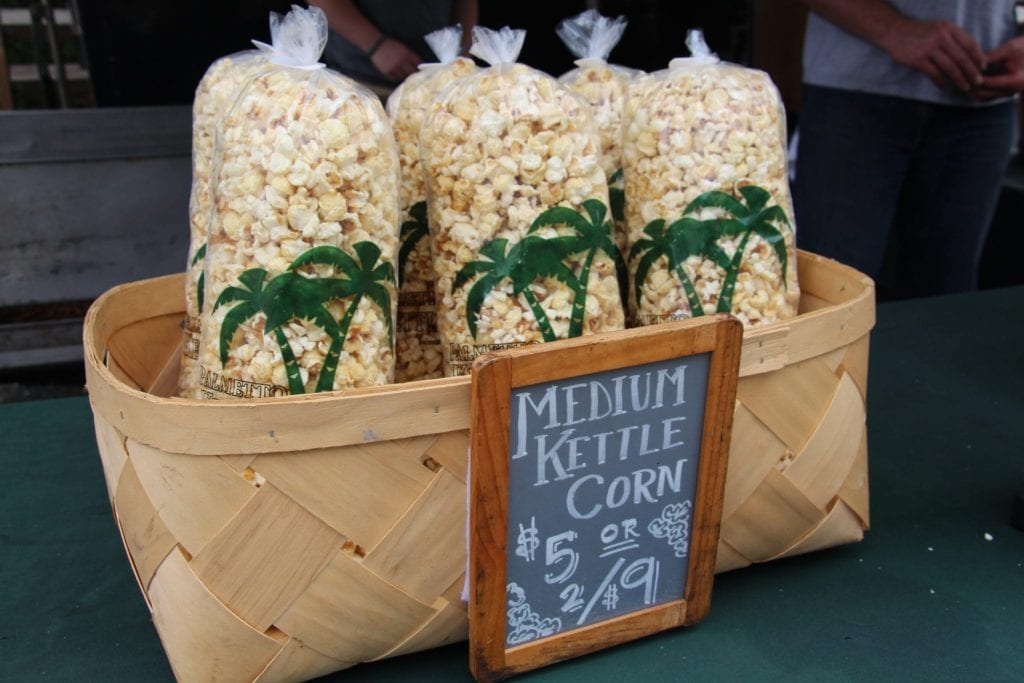 Fresh Hot Kettle Corn at Festival