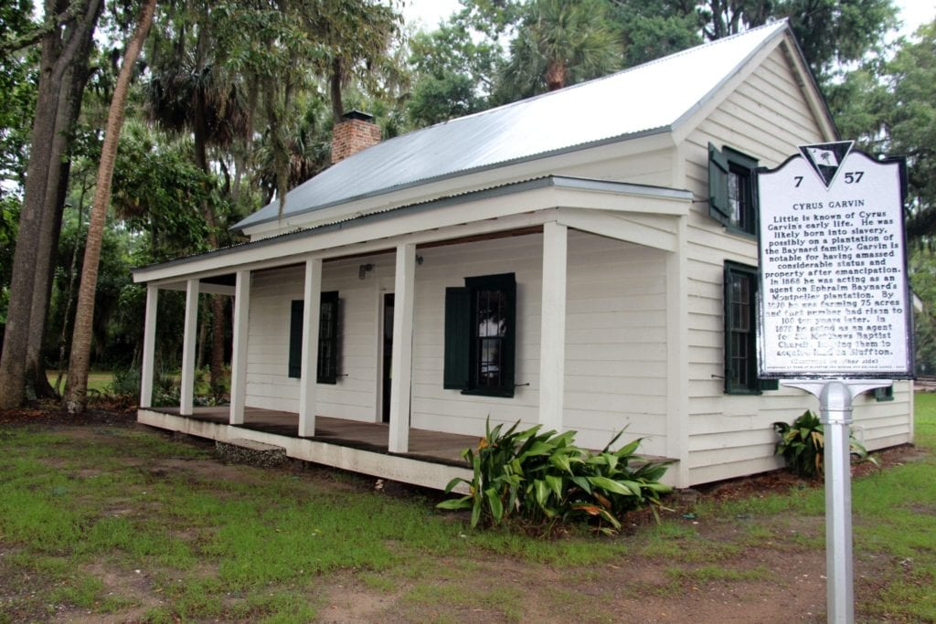 Garvin Garvey's Freedman Cottage Oyster Park