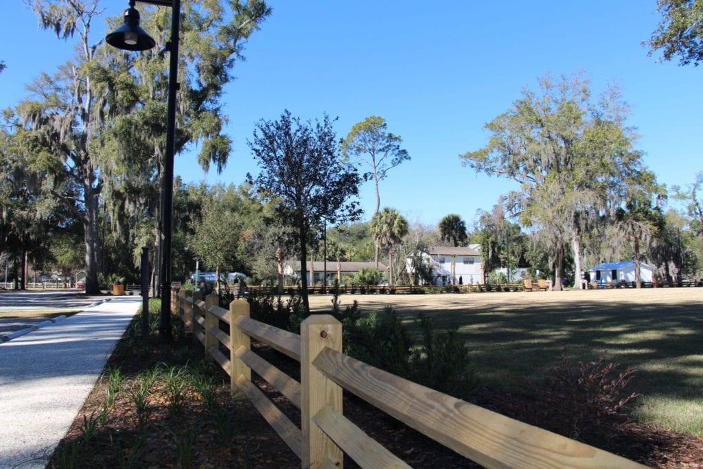 Martin Family Park Fence