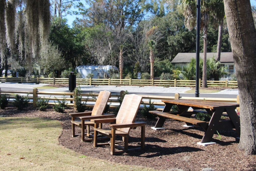 Picnic Tables Martin Family Park