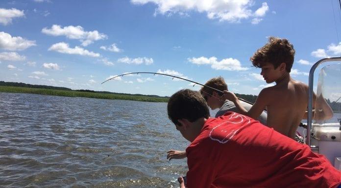 Kids Fishing May River