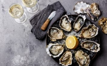 Restaurant Week Bluffton Oysters