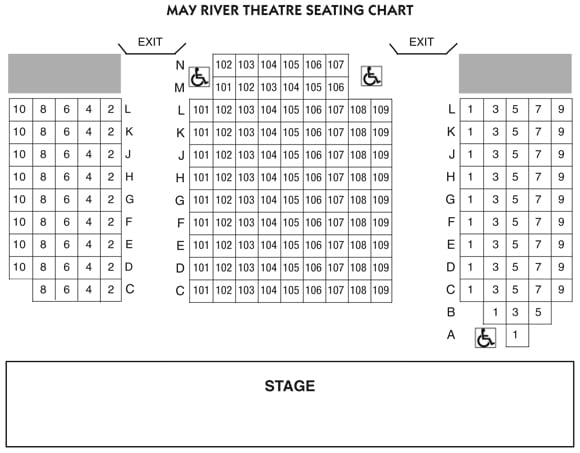 Seating Chart Theatre