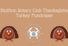 Bluffton Rotary Club Turkey Fundraiser