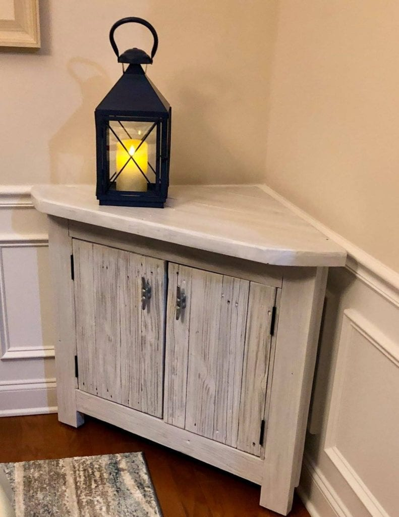 Custom Corner Table Bluffton SC