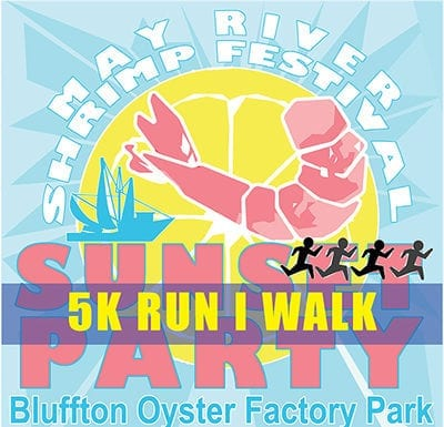 The Sunset 5k in Bluffton May River Shrimp Festival