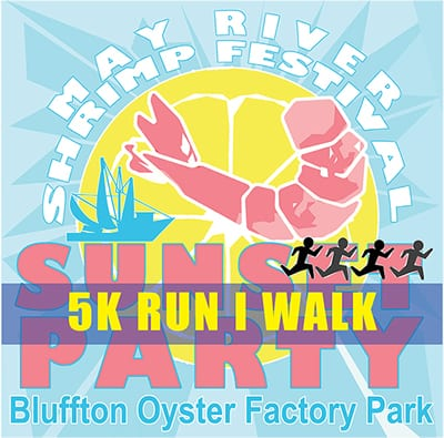 The Sunset 5k in Bluffton May River Shrimp Festival
