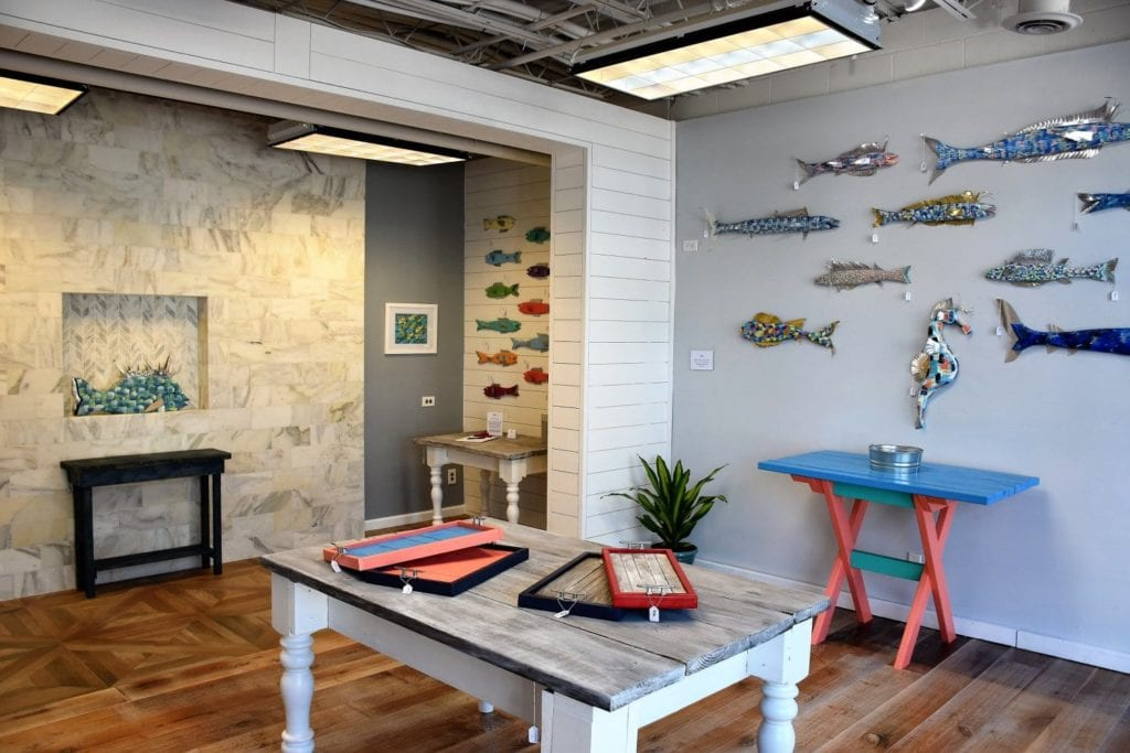 Showroom Signore Coastal Art Downtown Bluffton